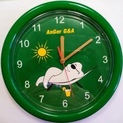 Часовник зъбче кръгъл зелен